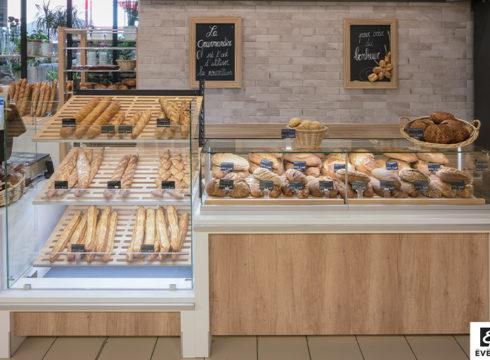 Evéma Agencement de Agencement Rayon Boulangerie - Chateaugiron