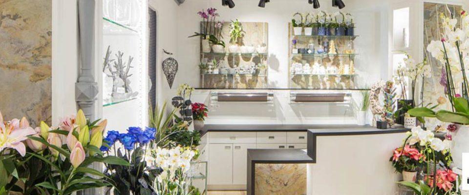 Blog Evema : Fleuriste : Quelles solutions d'agencement sur-mesure pour votre magasin de Fleurs ?